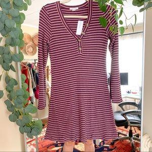 NWT AMERICAN EAGLE Striped Sweater Dress $44